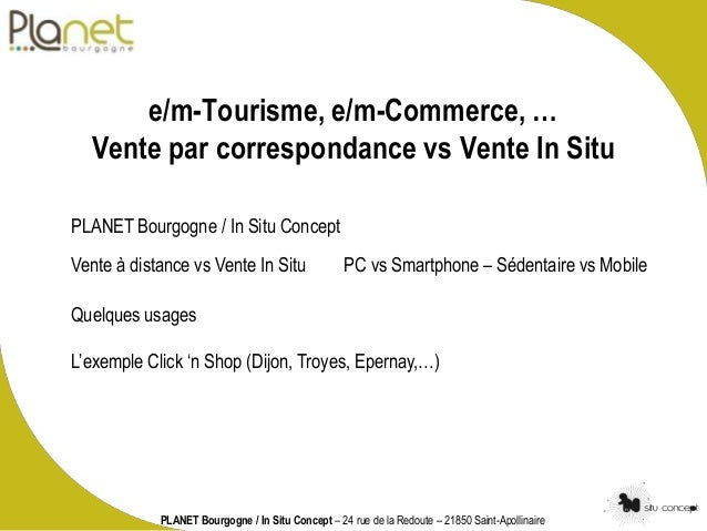 E m tourisme e m commerce vente par correspondance vs for Vente par correspondance jardinage