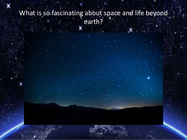Presentation   earth and space  Slide 2