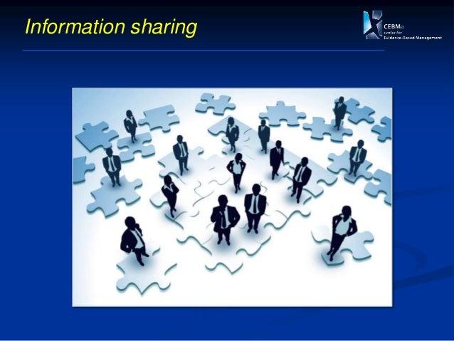 Measuring information sharing