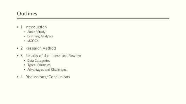 Learning Analytics and MOOCs Slide 2