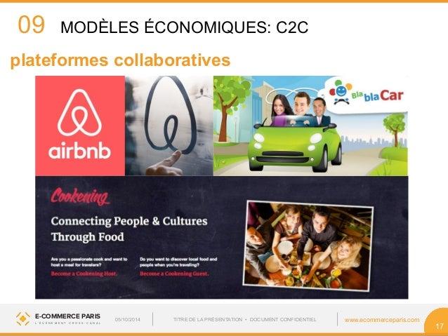 09  plateformes collaboratives  E-COMMERCE PARIS www.ecommerceparis.com  L ' É V É N E M E N T C R O S S - C A N A L  17  ...