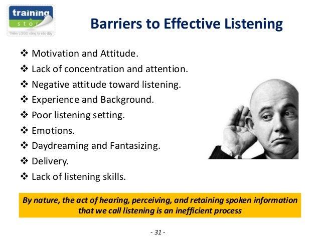 article kinds listening skills