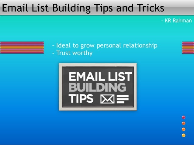 A Super Easy Way To Building Email List