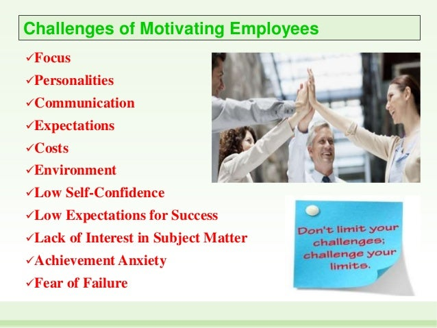 drivers and challenges on motivation 'today i boarded the train to work and trusted that the driver would get me to   the drivers establish and embed trust, sparking intrinsic motivation and reward   reframing problems through 'appreciative inquiry' can help any.