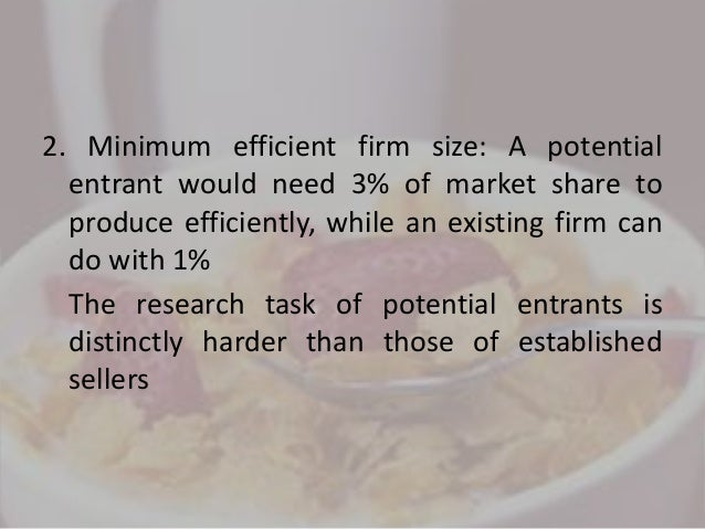 the rte cereal industry 1994 industry 5 case: the ready -to -eat breakfast cereal industry in 1994 discussion questions: 1 why has the rte cereal industry historically been such a profitable.