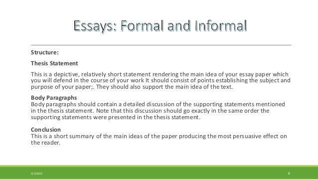 familiar essay sample