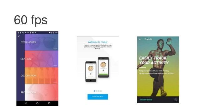 Cross platform mobile development with Flutter