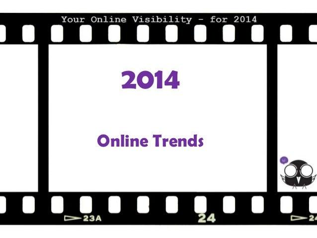 2014 Online Trends