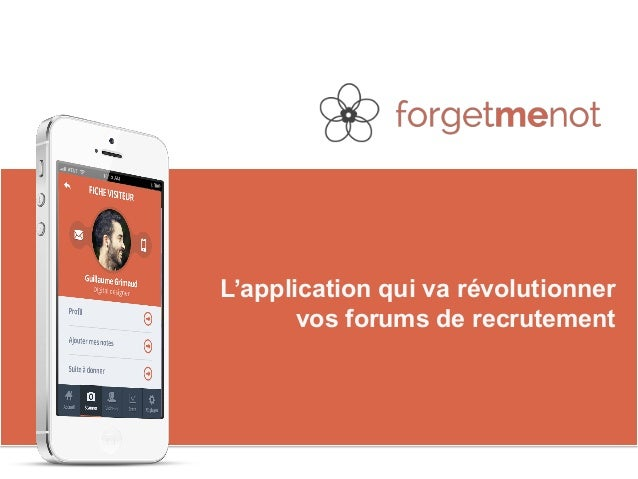 L'application qui va révolutionner  vos forums de recrutement