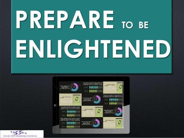 PREPARE TO BEENLIGHTENED