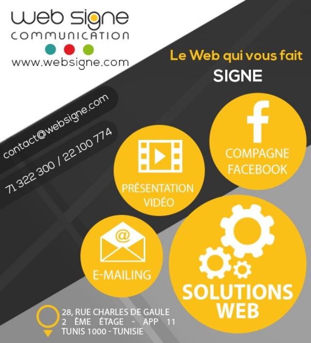 Société Web Signe