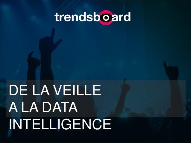 DE LA VEILLE A LA DATA INTELLIGENCE