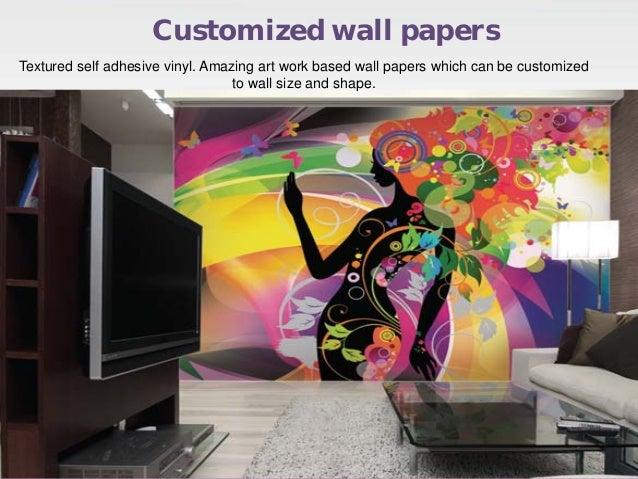 Gloob decor wallpaper