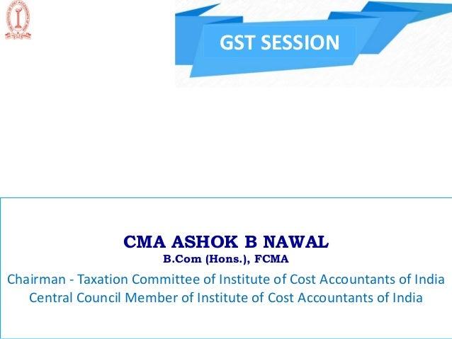Presentation Gst Bill 2017