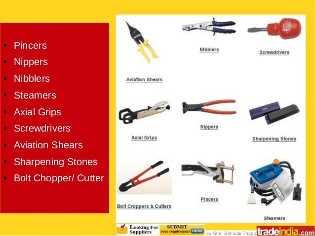 List of Hand (Manual) Tools & How to Buy Them in Bulk