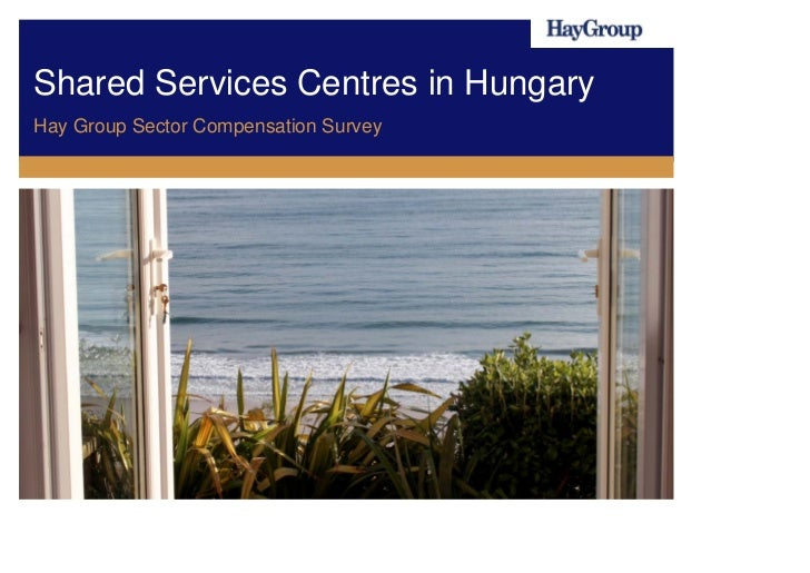Shared Services Centres in HungaryHay Group Sector Compensation Survey