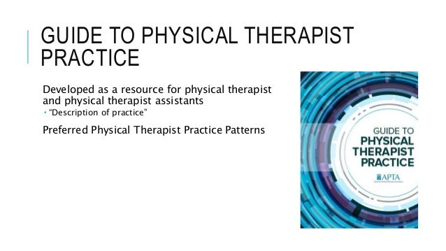 guide to physical therapist practice pdf free