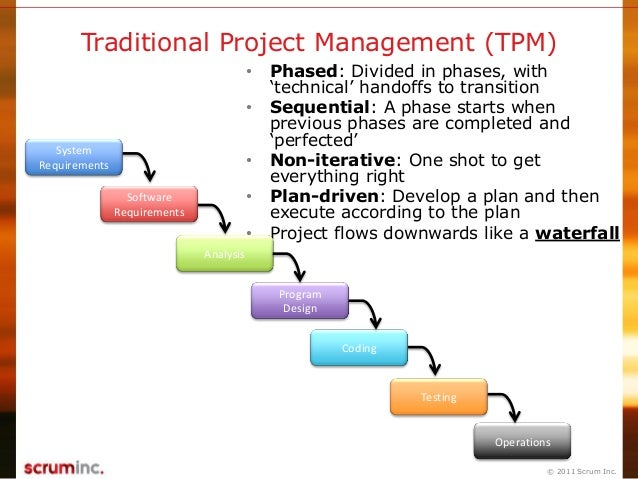 analysis of agile and traditional project Keywords: agile management, traditional project management, project risk,  change  thus, the involvement of the customer in the scope and analysis of.