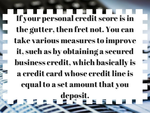 Business credit card affecting personal credit report images business credit card and personal credit score gallery card how can your personal credit score impact reheart Choice Image