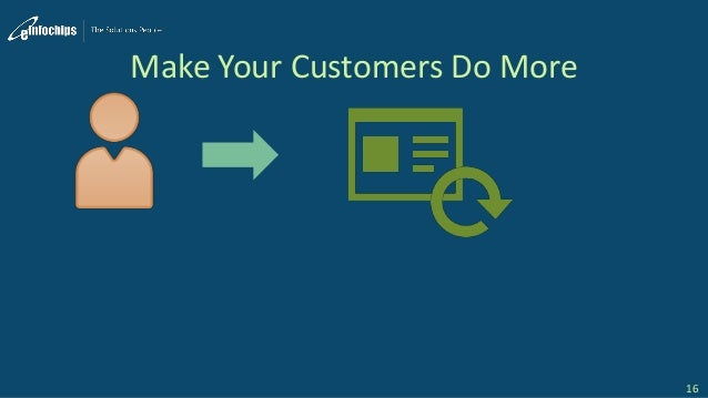 Make Your Customers Do More 16