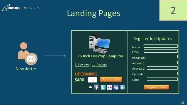 Landing Pages 2 28 Newsletter 6 Reviews  14 Ratings UPCOMING $400 1 15 Inch Desktop Computer Register for Updates Name Ema...
