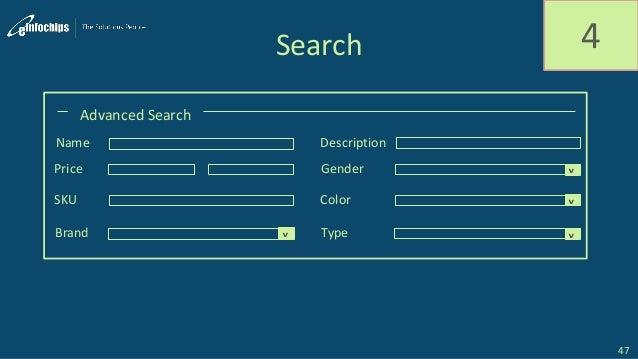 Search 4 Advanced Search Name Description Price Gender SKU Color Brand Type ^ ^ ^^ 47