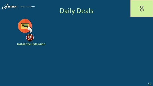 Daily Deals 8 Install the Extension 56