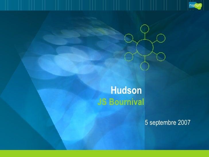 Hudson  JS Bournival 5 septembre 2007