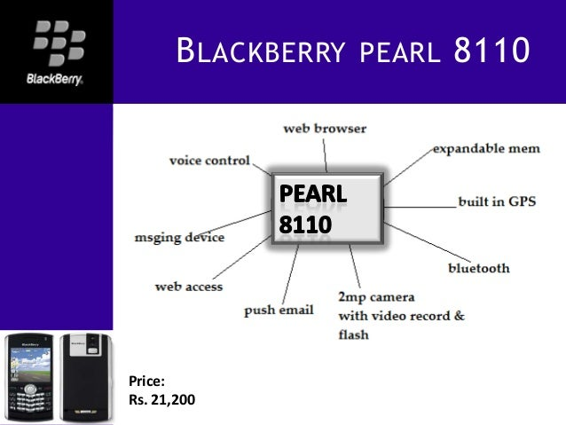 Presentation on Blackberry
