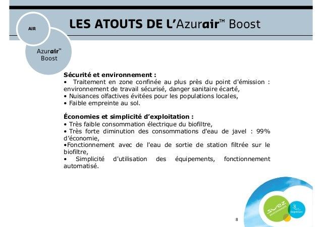 Azurair boost d sodorisation des usines de traitement - Eau de javel danger ...