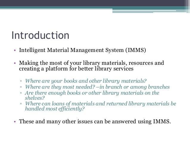 Presentation   Intelligent Libraries Material Management Oct 2013 Britta Bitsch  Slide 3