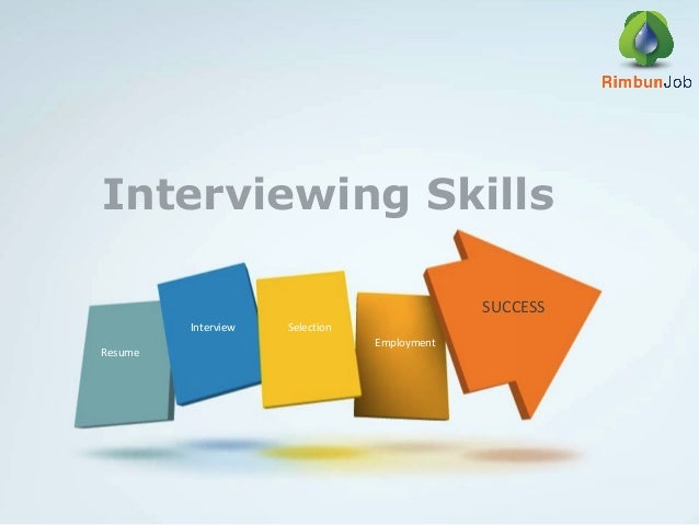 Interviewing Skills Rimbun Job Agency