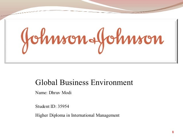 Johnson & Johnson: Taking Success in Diversity to a Global Level