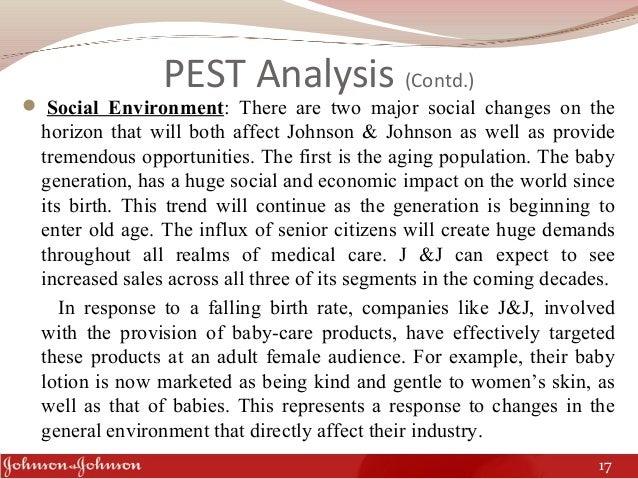 johnson and johnson pest analysis