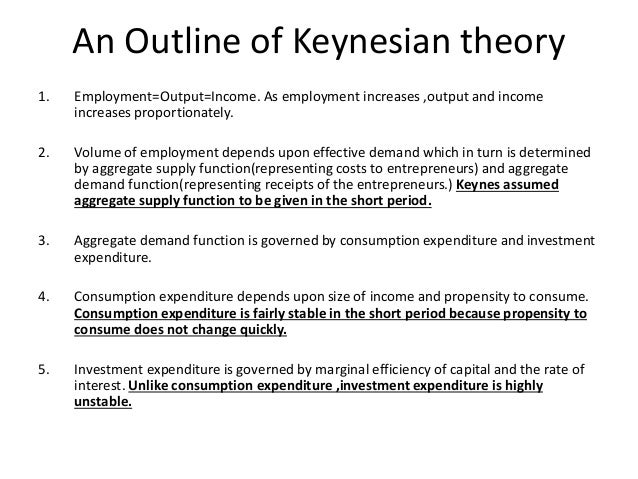 the history and use of keynesian theory Post keynesian theory and policy us and founding editor of the journal of post keynesian economics how did and history, who will appreciate.