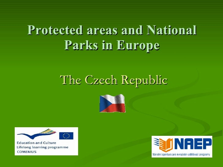 Protected areas and National       Parks in Europe       The Czech Republic