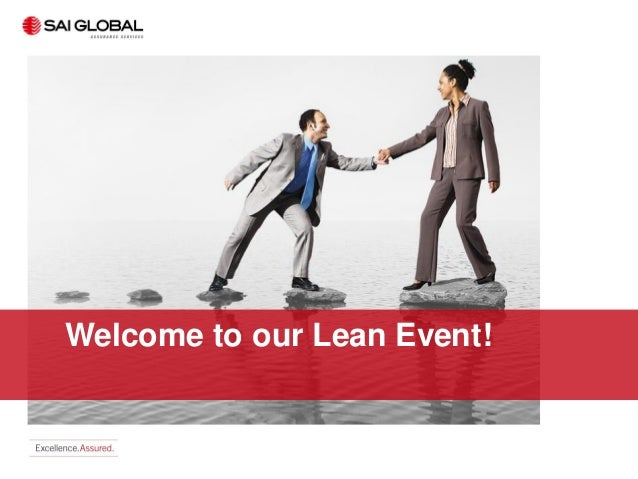 Welcome to our Lean Event!