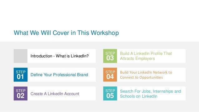LinkedIn for Students Slide 2