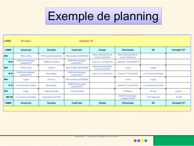 exemple planning 12h