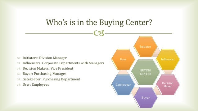 major sales who really does the buying pdf