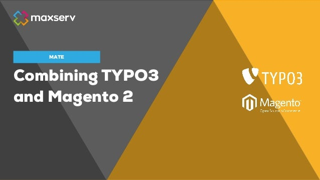 Combining TYPO3 and Magento 2 MATE