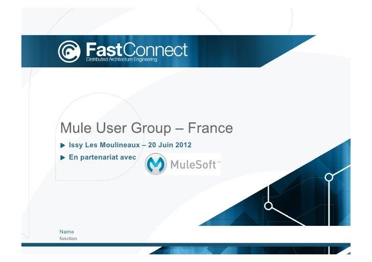 !  Issy Les Moulineaux – 20 Juin 2012!  En partenariat avecNamefonction