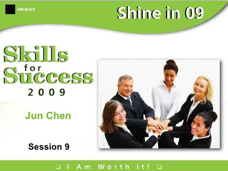 Jun Chen Session 9