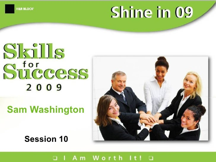 Sam Washington Session 10