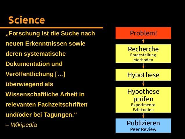 Open Science - Freie Wissenschaft für eine freie Gesellschaft Slide 3