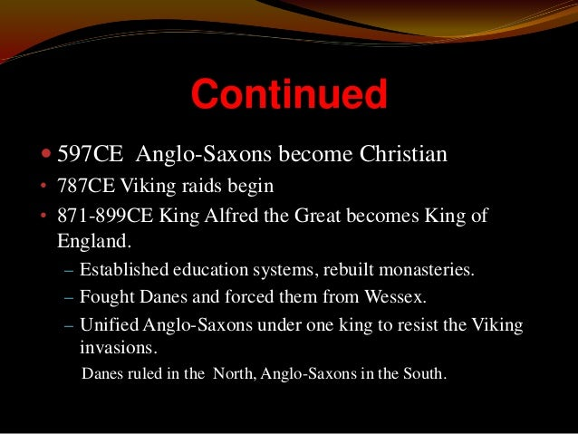 Anglo-Saxon Religion  Early Anglo-Saxon religion was a pagan belief system based on Germanic mythology. Remnants of these...