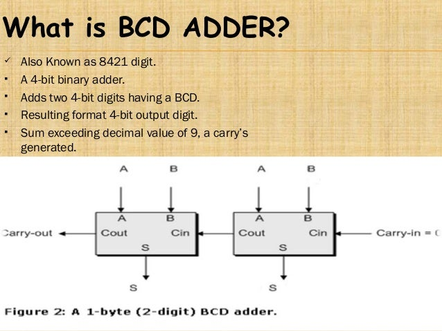 what is bcd adder? 7