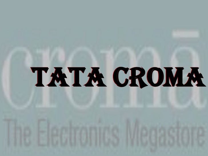 papers on tata croma Manoj mithbavkar manager-it at infiniti retail limited, croma - a tata  enterprise location  and software material • maintaining documents and daily  reports.