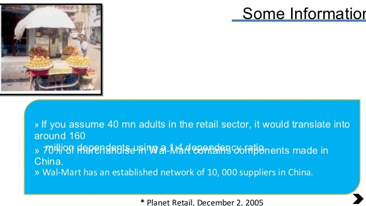 Some Information <ul><li>If you assume 40 mn adults in the retail sector, it would translate into around 160 </li></ul><ul...