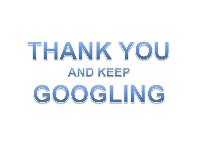 Presentation on-google